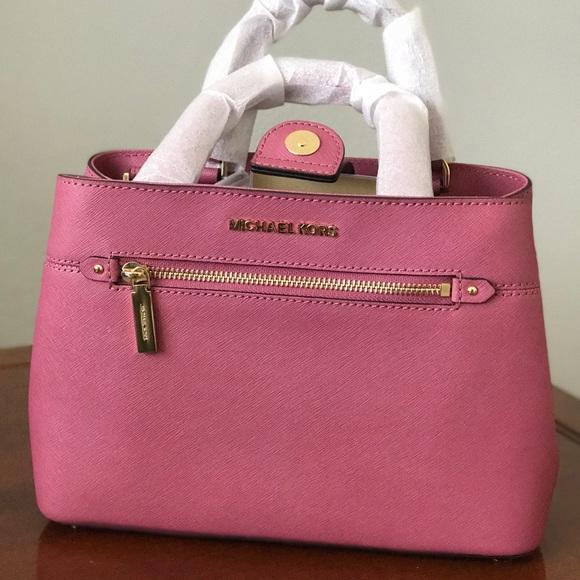 f957e54f4ec3 Michael Kors Bags | Mk Leather Small Hailee Bag | Poshmark